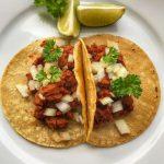 Tacos al pastor veggie