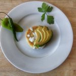 Sope con salsa verde