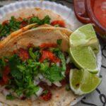 Tacos veganos de pastor
